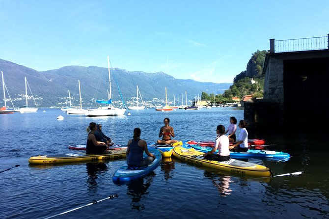 Small Group SUP Yoga Experience in Budoni