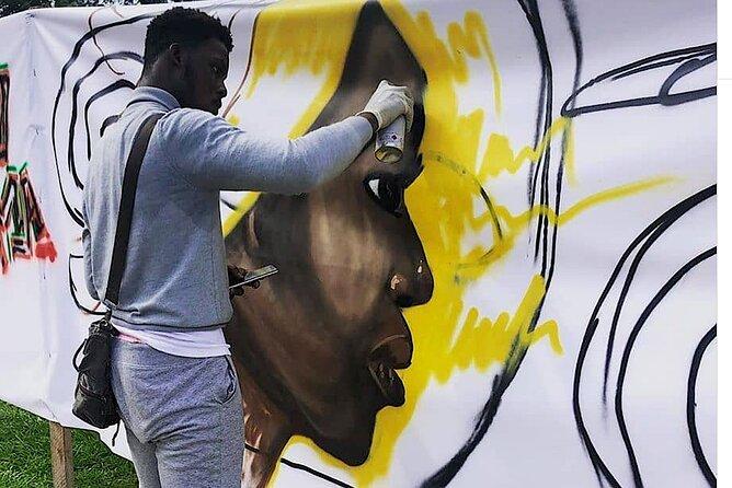 Graffiti Class with a Changemaker