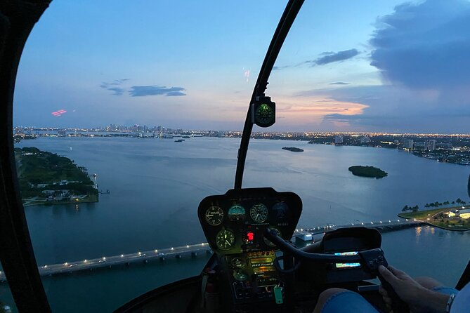 Miami Sunset Private Helicopter Tour