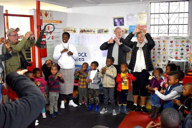 Respectful visit to Township-based Educare Centre / Preschool