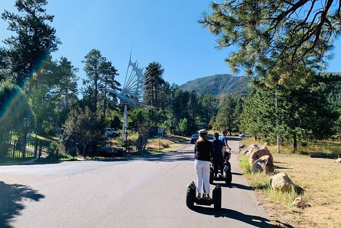 2 Hour Segway Tour in Cheyenne Cañon and Broadmoor Area