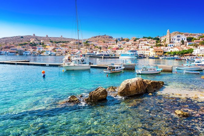 Boat trip to Chalki Island from Rhodes
