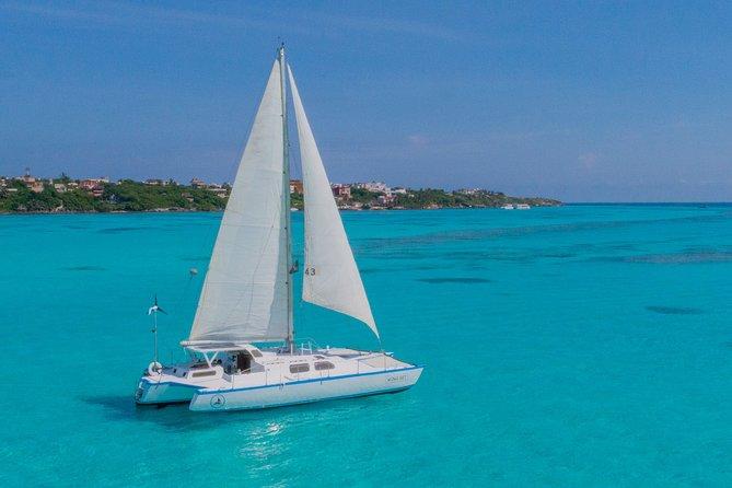 Isla Mujeres: All-Inclusive Catamaran Tour