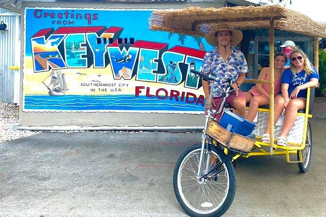 Private Key West Conch Republic Tiki Bike Experience by Kokomo Cabs Key West