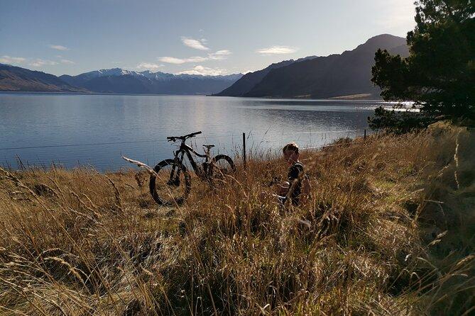 Bike Hawea to Wanaka