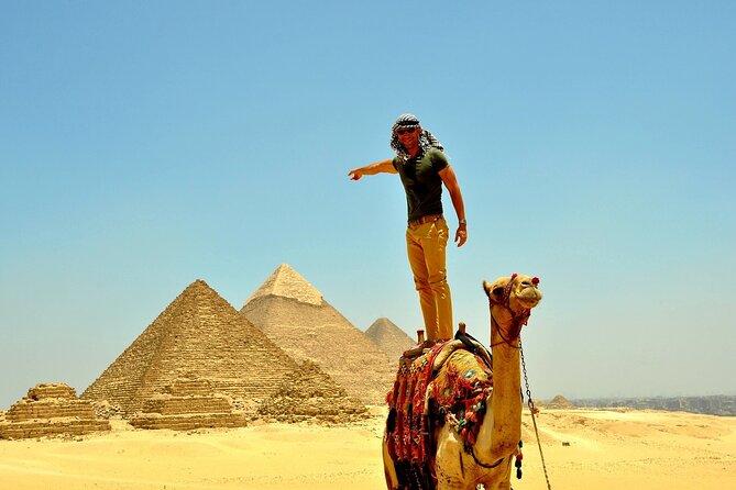 Virtual Tour of Giza Pyramids and Egyptian Museum