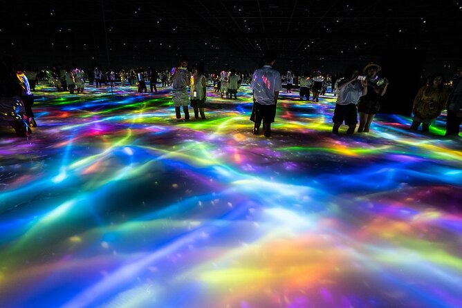 teamLab Planets TOKYO admission ticket with one way private transfer