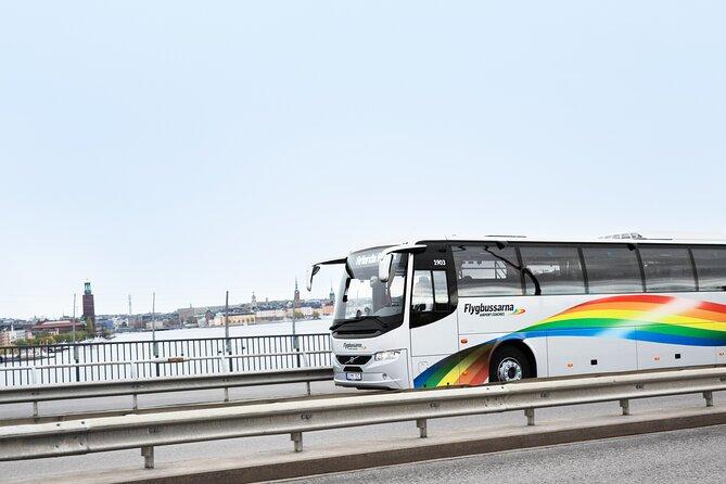 Arlanda Airport Bus Transfer Departure