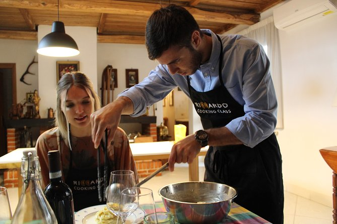 A Cooking Masterclass On Handmade Pasta and Italian Sauces