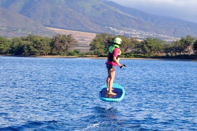 Electric Foilboard rides/lessons/sessions at Sugar Beach, Maui