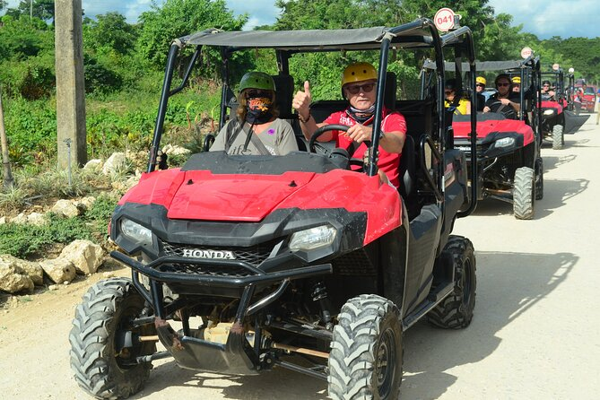 Small Group UTV Off-Road Tour At Punta Cana, Emazing Beach & Chocolate testing