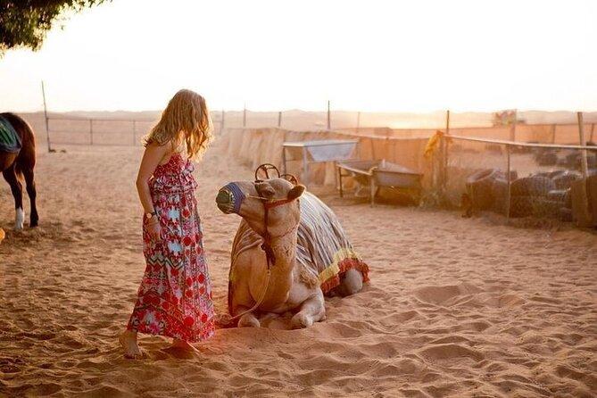 Morning Desert Safari With 20-Minutes Camel Ride