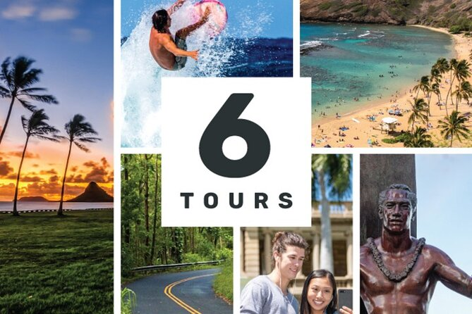 Amazing Oahu Adventure Bundle: 6 Epic Self-Guided Audio Tours