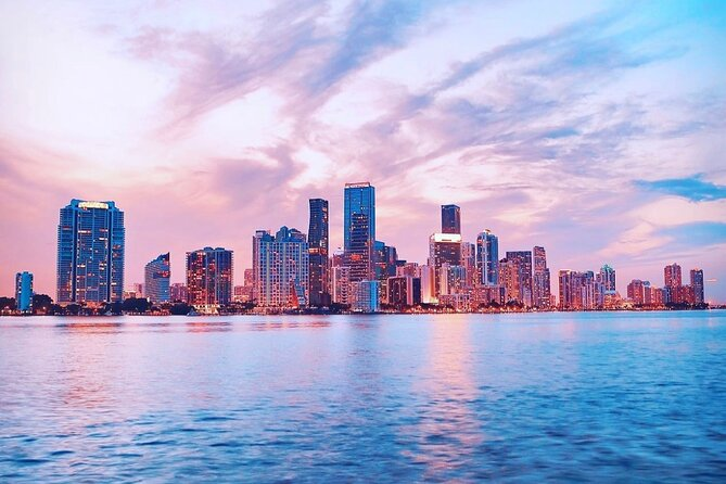 Private Night and Sunset Boat Rental in Miami