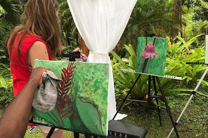 Andromeda Botanic Gardens Tour and Painting Workshop