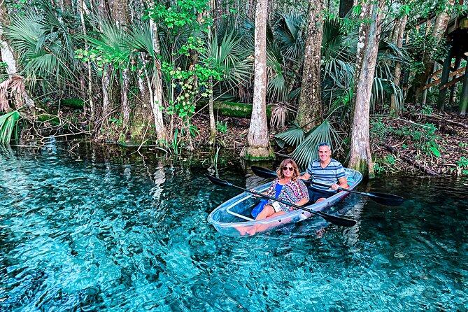 Clear Kayak Adventures through Silver Springs