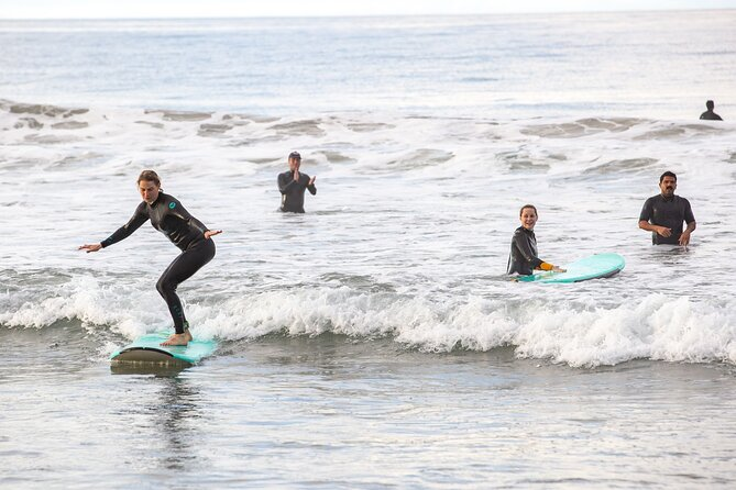 Group Surf Lesson for 2 with a Local Surf Coach in San Diego