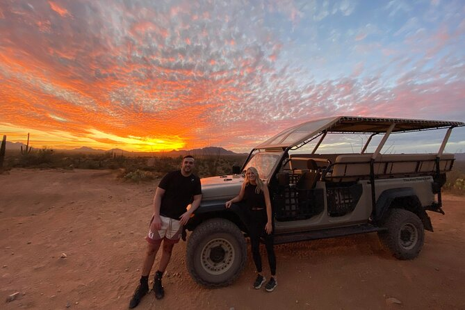 Sonoran Desert Jeep Tour at Sunset