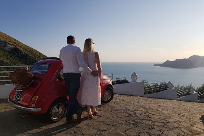 Sorrento Coast Sunset Photo Tour by Vintage Fiat 500