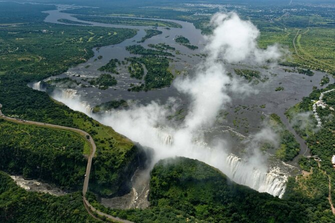 Guided Tour of the Victoria Falls, Zambia (including transfers and entry fee)