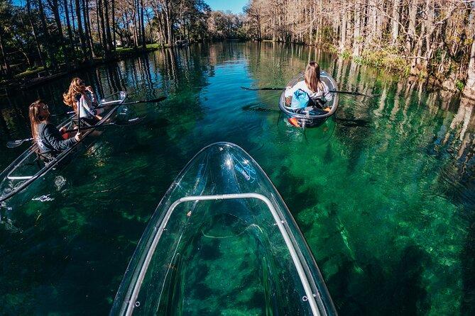 Clear Kayak Tours Through Rainbow Springs