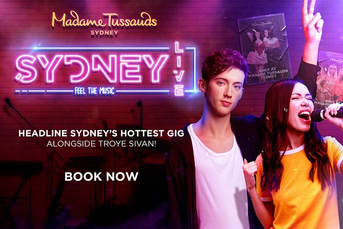Madame Tussauds Sydney Entrance Ticket