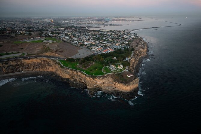 Private Helicopter Tour of Rancho Palos Verdes, Los Angeles, and Long Beach