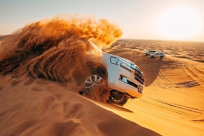 Dubai Red Dunes Desert Safari, With BBQ, Camel Ride, Sand Boarding And Much More