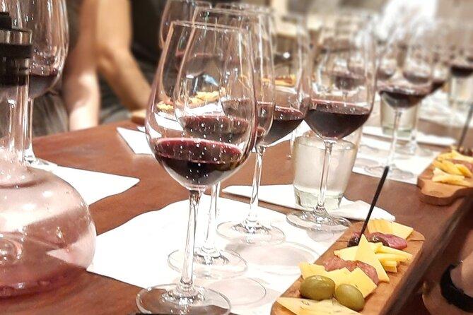 Fast Wine Tasting. 4 wines, 4 cheeses, 40 minutes