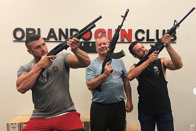 """Orlando Gun Club - Pick """"4"""" Guns Experience"""