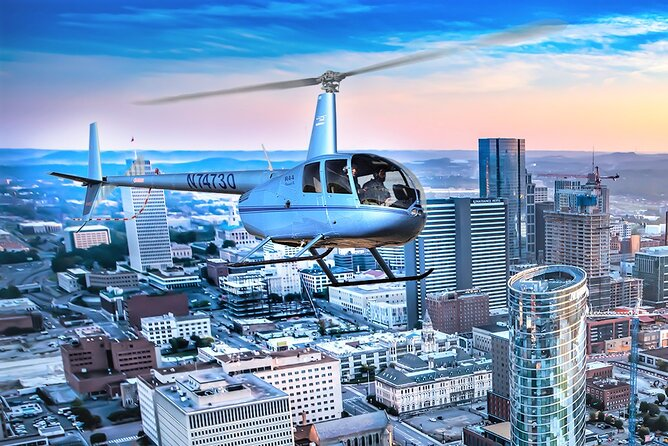 Helicopter Tour of Downtown Nashville (approx 15 mins)