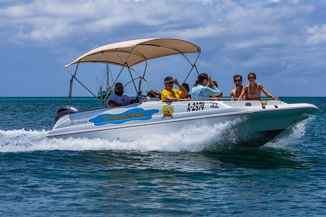 Private Cruise along the Aruba Coast Line with Snorkeling