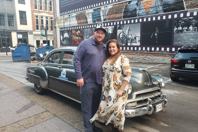 1-Hour Private 1950's Classic Ride in Downtown Nashville