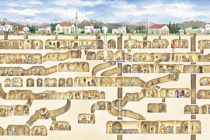 Cappadocia Underground City and Ihlara Valley Tour