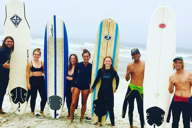 Oceanside Private Surf Lesson