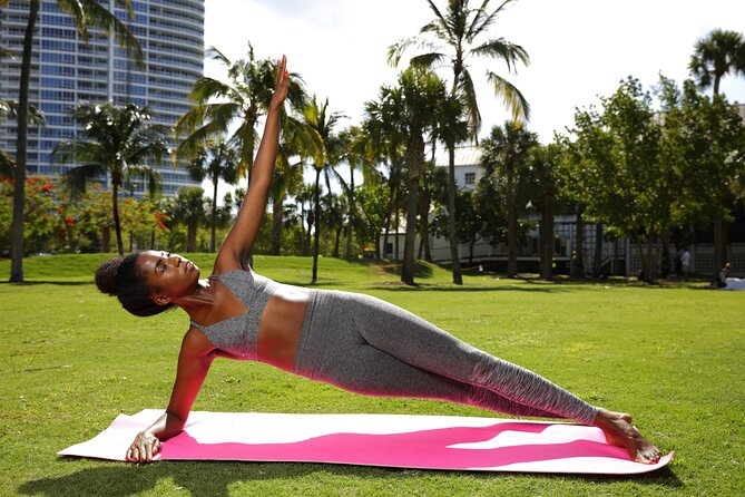 Yoga & Tea Experience in Stunning South Pointe Park