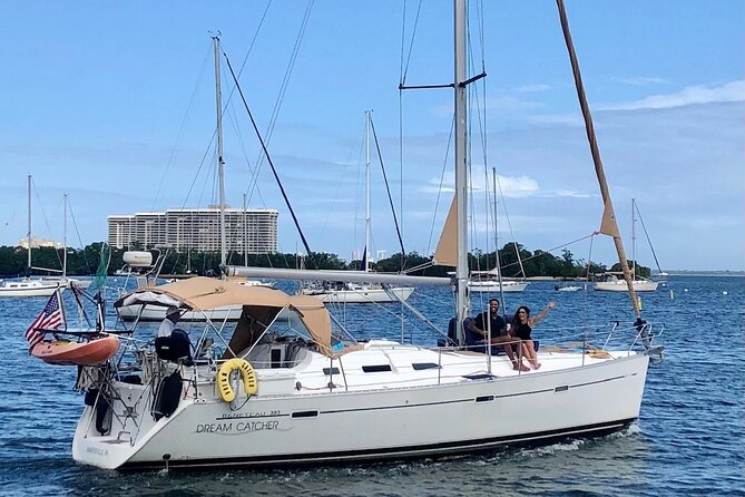Private Sailing Charter in Miami for up to Six Guests
