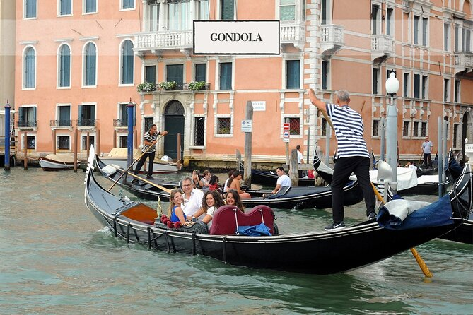 Venice: Grand Canal by Gondola with commentary