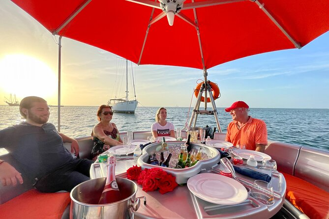 Private Island Dinner in Palm Beach, Aruba with Pick-up