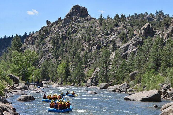 Private Full Day Whitewater Rafting Experience from Vail Valley