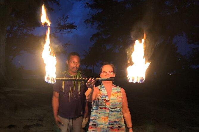 Samoan FireKnife Experience On Kaua'i