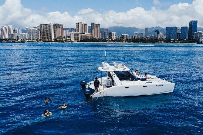 Private Sunrise Catamaran Cruise in Waikiki