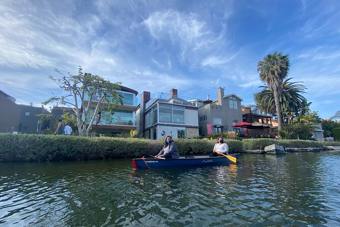 Canoe 1-Hour Rental on the Venice Canals