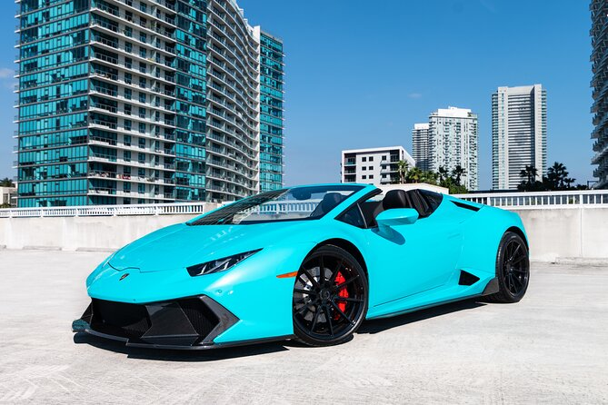 Lamborghini Huracan Spyder Tour - Supercar Driving Experience Tour in Miami, FL