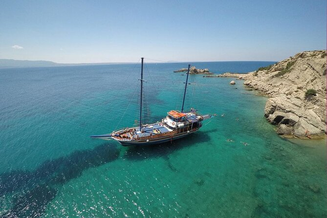 Full Day 3-Island Boat Cruise from Port of Kos
