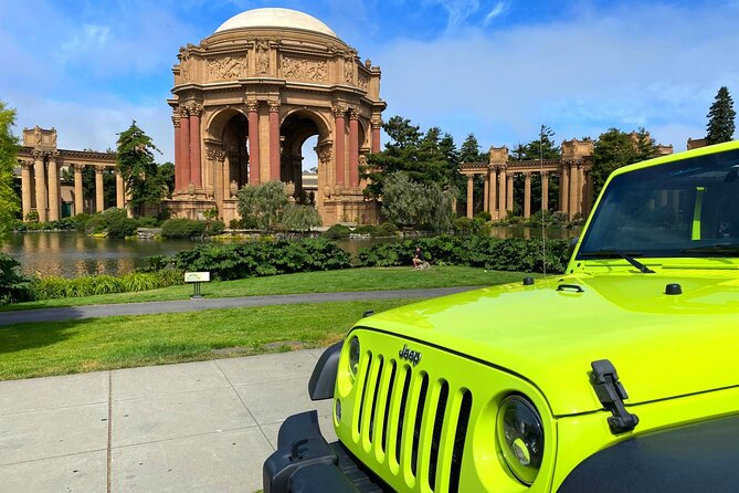 2-Hour Private San Francisco City Tour in Open-air Convertible Jeep