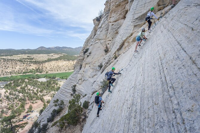"""East Zion """"Top of the Rock"""" Rock Climbing (Via Ferrata), Canyoning, & Rappelling"""