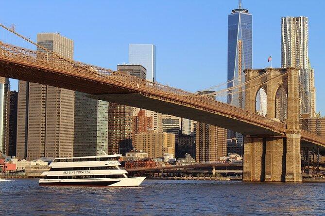 3 1/2-Hour NYC Skyline Dinner & Sightseeing Cruise - World's Fair Marina Queens