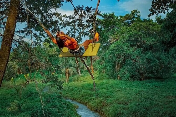 2 Hour ATV Ride and Swing Tour from Montego Bay
