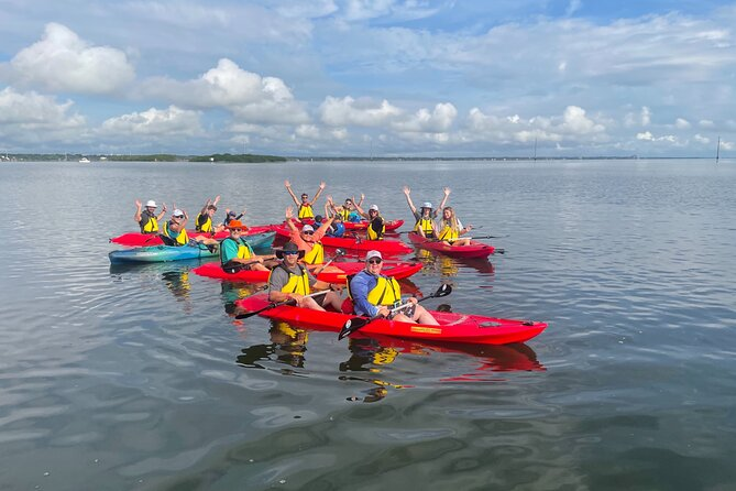 NEW TOUR! Indian River Clear Bottom Manatee and Dolphin Kayak Tour